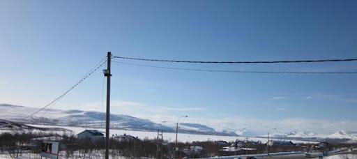 Kilpisjärvi, kijkend naar het Noorden