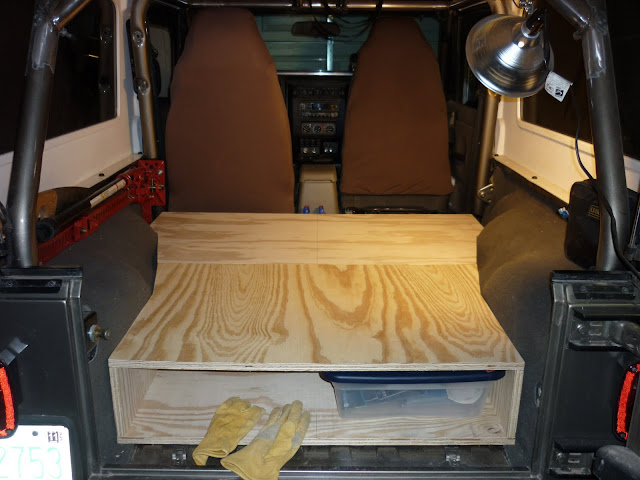 Drawer Storage System For Jeep Wrangler Expedition Portal