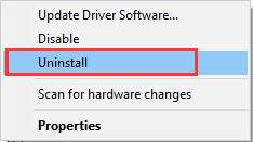 Uninstall the AMD Graphics Driver