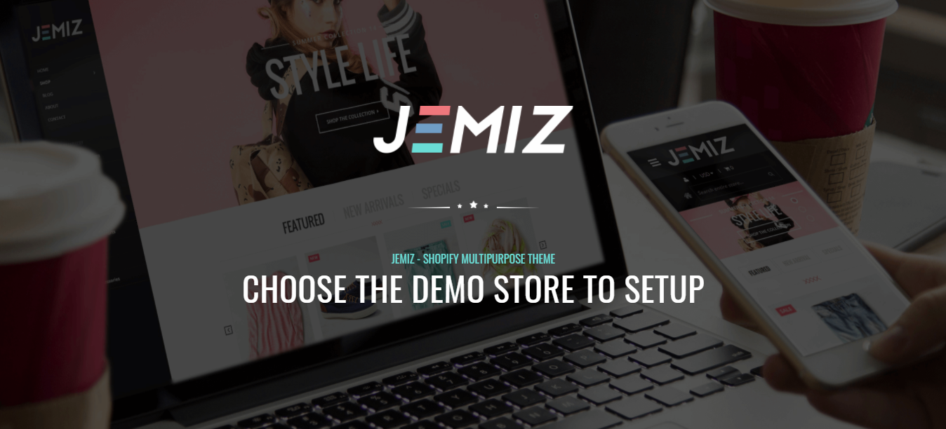 Jemiz - Spa shopify theme