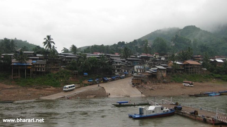 The beautiful Muong Khoa village in Laos