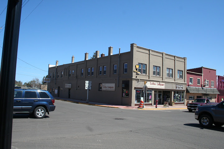 This is once rumored to be a burlesque house. Notice the location of the windows in proportion to the building. This principle helped distinguish Hurley as the Las Vegas of the mining town spread. –Ashley Holloway