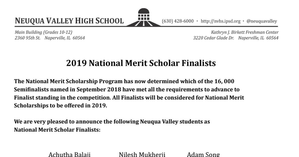 National Merit Finalists 2019 - Google Docs pdf - Google Drive