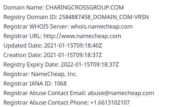 Полный обзор деятельности Charing Cross Group и отзывы о проекте обзор