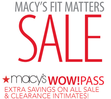 Macys Wow Pass Coupon April 2011