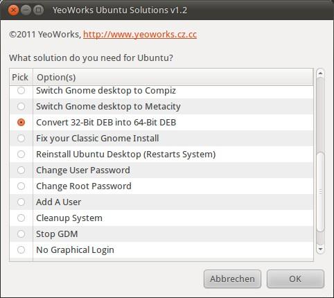 Ubuntu Einstellungstool YeoWorks Ubuntu Solutions
