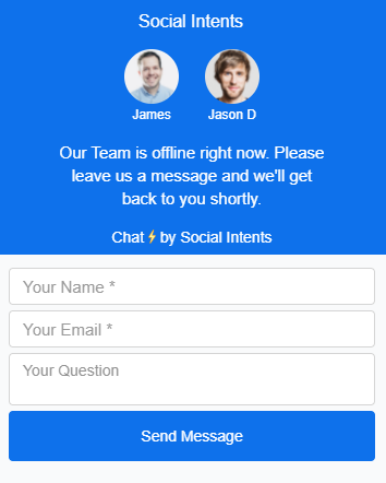 Example of a proactive live chat.