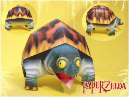 Majora's Mask Snapper Papercraft