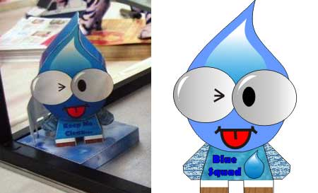 Cebe Paper Toy Willy Water