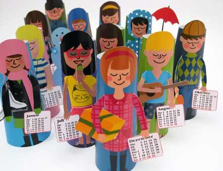 Smil 2010 Papercraft Calendar