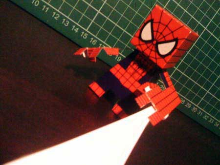 Spider-Man Paper Toy