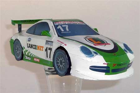 Porsche 996 Papercraft
