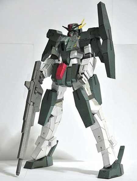 GN006 Cherudim Gundam Papercraft