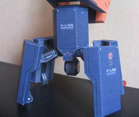 Gundam Papercraft Automaton