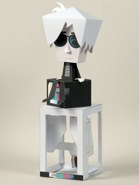 Andy Warhol Paper Toy Enhanced Edition