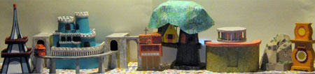 Mister Rogers Neighborhood Papercraft Neighborhood of Make-Believe