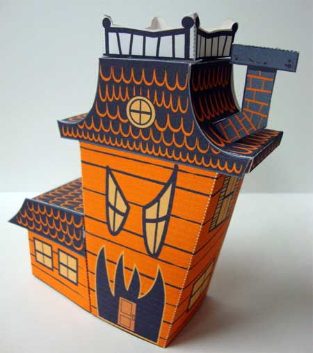 Ghastly Manor Papercraft