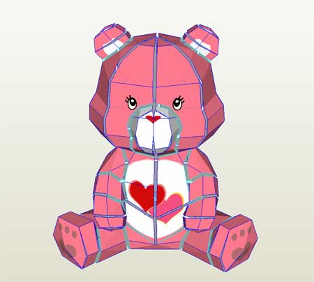 The Ultimate Care Bears Papercraft