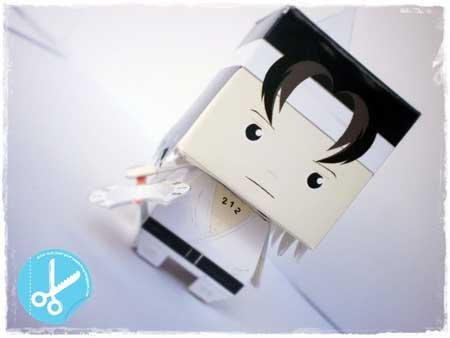 Wiro Sableng Papercraft