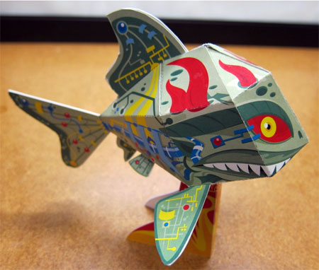 C3 Koi Paper Toy 2