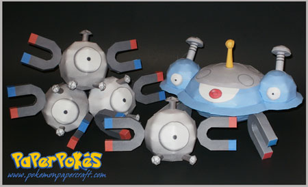 Pokemon Magnezone Papercraft
