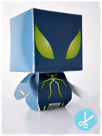 Spider Man Paper Toy Stealth Suit