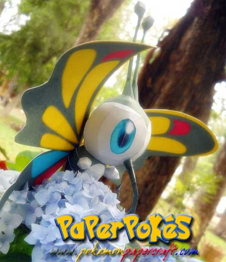 Pokemon Beautifly Papercraft