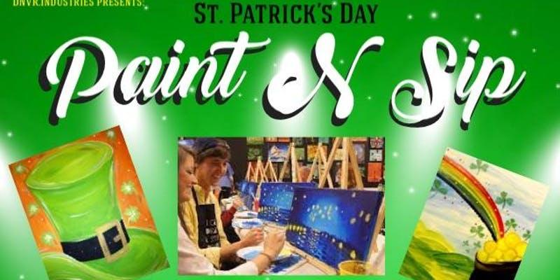 D.N.V.R.-Industries-Denver-St.-Patrick's-Day-Paint-&-Sip