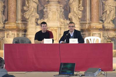 En la derecha, Jaume Freixes, periodista de TV3 y ex alumno de nuestro instituto.