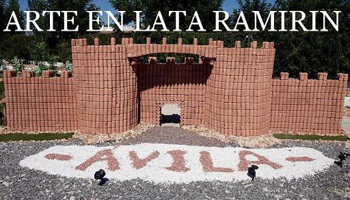 Entrevista a Ramiro, el escultor con latas