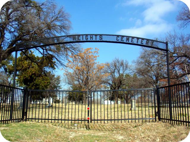 Western Heights Cemetery Clyde Barrow Dallas