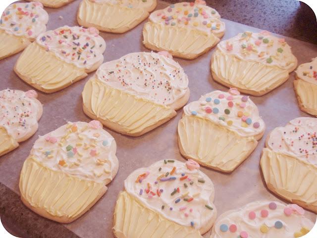 cute cupcake cookies