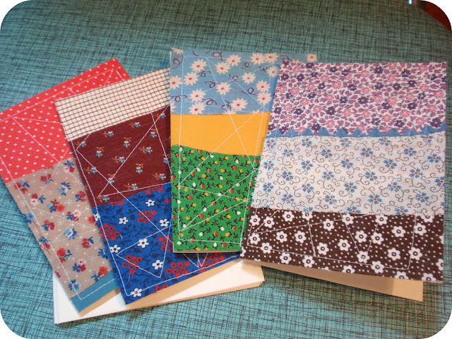quilted notecards