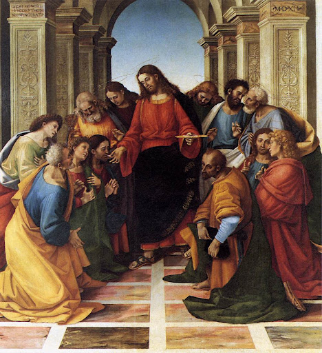 Luca Signorelli: Pričest apostola