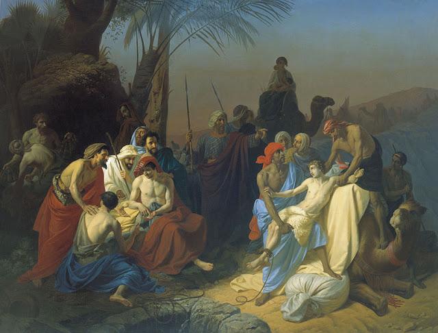 Flavitsky: Jakobovi sinovi prodaju Josipa