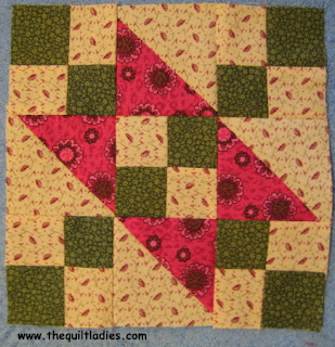 Fifty-Two Quilt Pattern Blocks in Fifty-Two Weeks, Week 22, Jacob's Ladder Quilt Pattern Tutorial