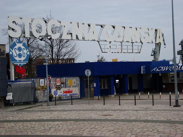 Historyczna II brama Stoczni Gdańskiej