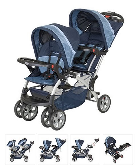 Baby Trend Sit N Stand Double Stroller Pistachio: The Shaws: Picking A Double Stroller