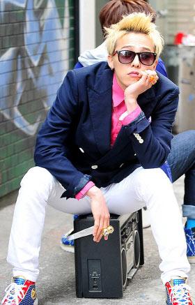 G-Dragon เป็นนายแบบคนใหม่ให้กับ Bean Pole