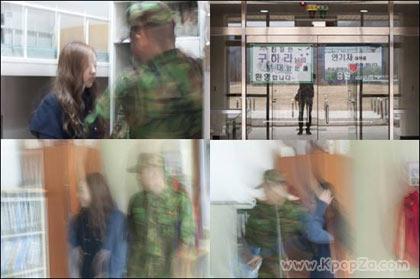 Goo Hara วง KARA ไปเยี่ยมพี่ชายในกองทัพ