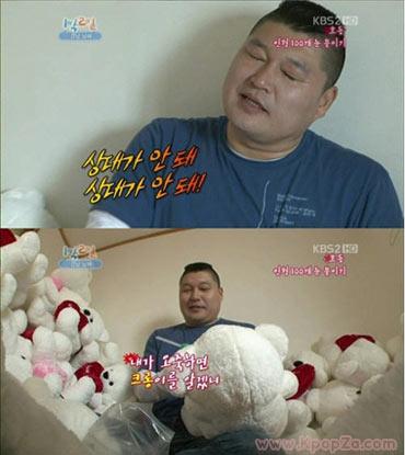 ลูกชาย Kang Ho Dong สนใจตัวการ์ตูนโพโรโระ มากกว่าพ่อ