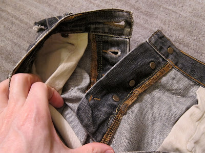 male pattern boldness: Jeans Sew-Along 10 -- How to Make a Button Fly!