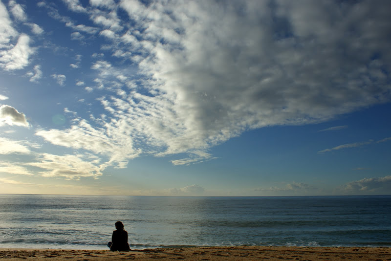 Eu e o mar
