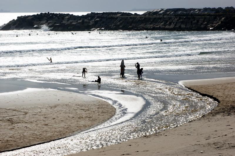 Mar de prata  em São Torpes