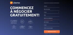 Libertex_Formulaire d'Inscription