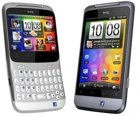 Hard reset HTC Salsa y HTC ChaChaCha
