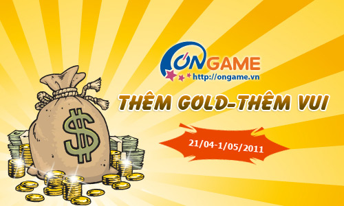 Ongame tặng miễn phí hàng tỷ gold cho game thủ  1