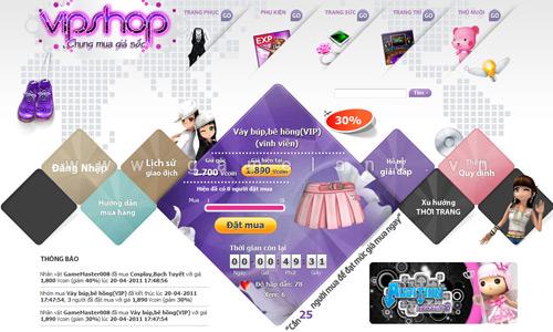 VTC Game trình làng hệ thống VIPShop cho Audtion 2