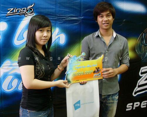 Zing Speed trao giải cuộc thi Người bạn đồng hành 2