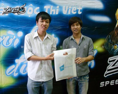 Zing Speed trao giải cuộc thi Người bạn đồng hành 4